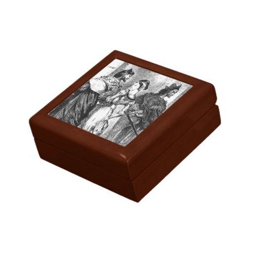 Eugene Delacroix: Margarita de la reunión de Faust Caja De Recuerdo