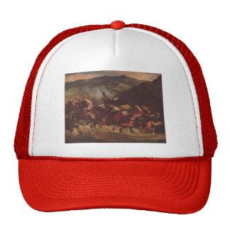 Eugene Delacroix- Moroccan Fantasia Hat