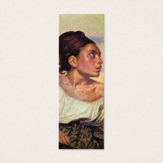 Eugène Delacroix - Orphan in the Cemetery Mini Business Card