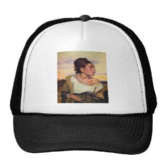 Eugène Delacroix - Orphan in the Cemetery Trucker Hat