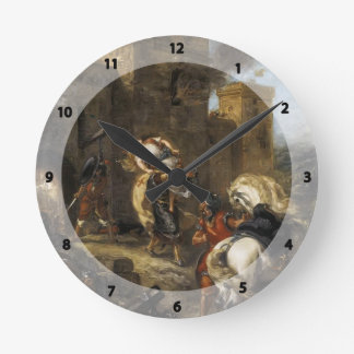 Eugene Delacroix- Rebecca Kidnapped by the Templar Clock