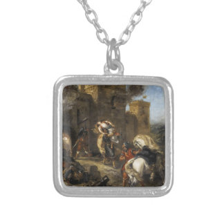 Eugene Delacroix- Rebecca Kidnapped by the Templar Jewelry