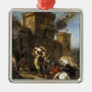 Eugene Delacroix- Rebecca Kidnapped by the Templar Ornament