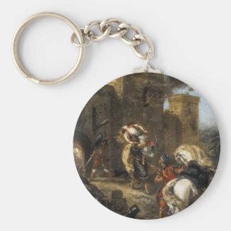 Eugene Delacroix- Rebecca secuestrada por el Templ Llaveros Personalizados