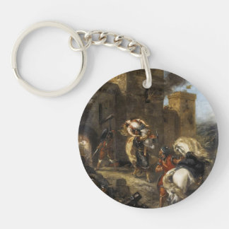 Eugene Delacroix- Rebecca secuestrada por el Templ Llaveros