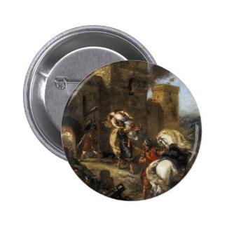 Eugene Delacroix- Rebecca secuestrada por el Templ Pin