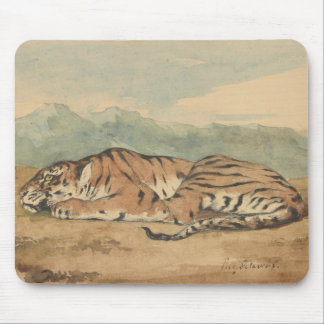 Eugene Delacroix - Royal Tiger Mouse Pad