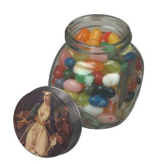 Eugene Delacroix- Ruins of Missolonghi Glass Jars