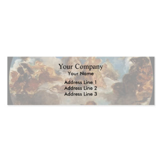 Eugene Delacroix-Sketch for Peace Descend to Earth Business Cards
