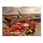 Eugene Delacroix- Still Life with Lobsters Post Card