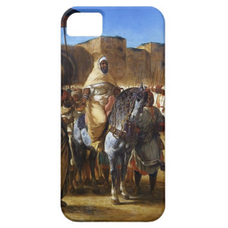 Eugene Delacroix- The Sultan of Morocco leaving iPhone 5 Cover