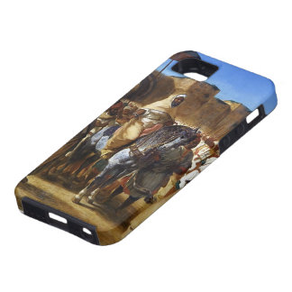 Eugene Delacroix- The Sultan of Morocco leaving iPhone 5 Case