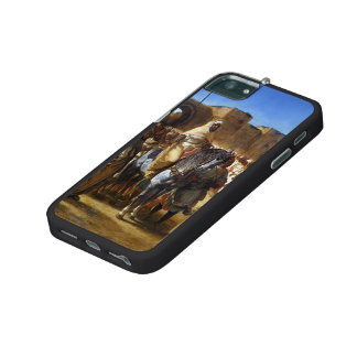 Eugene Delacroix- The Sultan of Morocco leaving iPhone 5 Cases