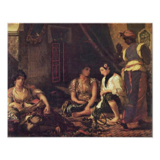 Eugene Delacroix - The Women of Algiers Posters