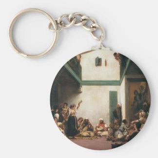Eugene Delacroix- un boda judío en Marruecos Llavero