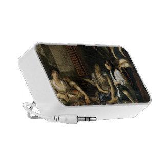 Eugene Delacroix- Women of Algiers in Apartment Travel Speakers