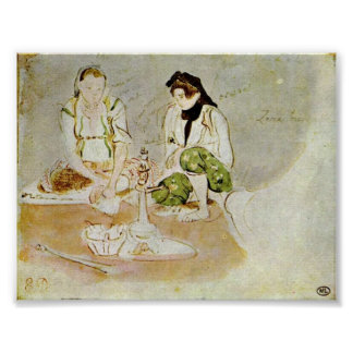 Eugene Delacroix - Women of Algiers (studies) Posters