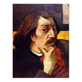 Eugène Enrique Paul Gauguin - autorretrato Tarjeta Postal