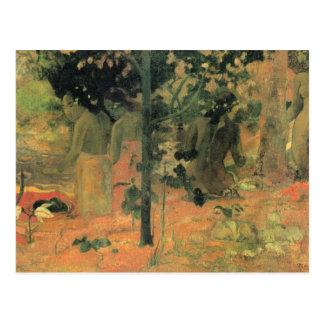 Eugène Enrique Paul Gauguin - Badende Postal