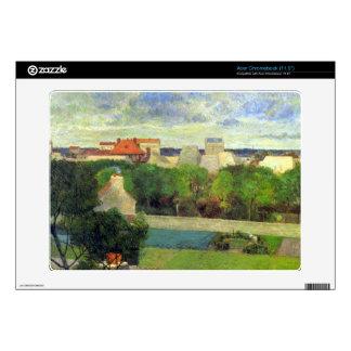 Eugène Enrique Paul Gauguin - Famers vegetal en el Skins Para Acer Chromebook