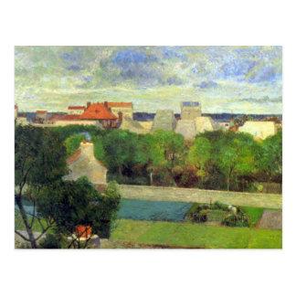 Eugène Enrique Paul Gauguin - Famers vegetal en el Postal