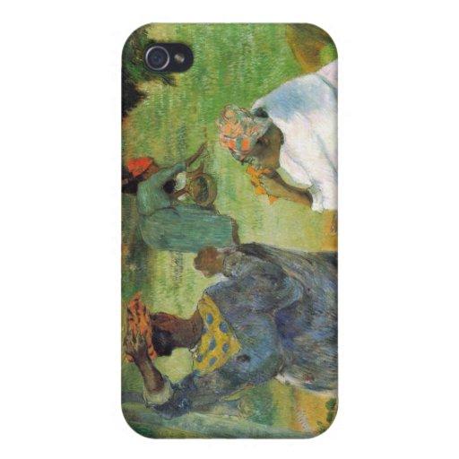 Eugène Enrique Paul Gauguin - fruta del mango iPhone 4 Cárcasa