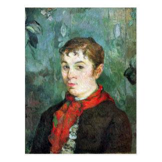 Eugène Enrique Paul Gauguin - hija de los Tarjetas Postales