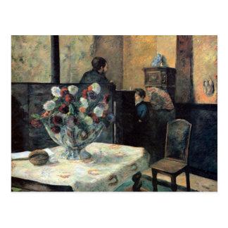 Eugène Enrique Paul Gauguin - interior del pintor Postales