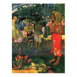 Eugène Enrique Paul Gauguin - La Orana Postales
