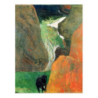 Eugène Enrique Paul Gauguin - libración sobre el a Tarjetas Postales