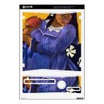 Eugène Enrique Paul Gauguin - mujer con el mango Skins Para Xbox 360 S