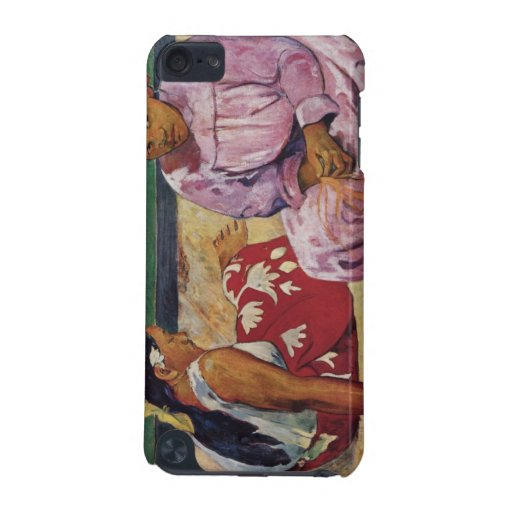 Eugène Enrique Paul Gauguin - mujeres de Tahitian