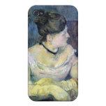 Eugène Enrique Paul Gauguin - señora Gauguin iPhone 4 Cárcasas