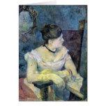 Eugène Enrique Paul Gauguin - señora Gauguin Tarjeta