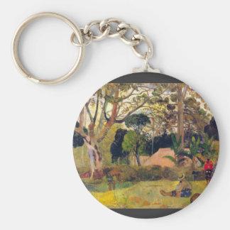 Eugène Enrique Paul Gauguin - Te Raai Rahi Llavero Personalizado