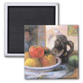 Eugène Enrique Paul Gauguin - todavía vida con las Iman Para Frigorífico