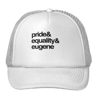 EUGENE EQUALITY AND PRIDE -.png Trucker Hat