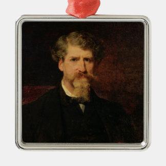 Eugene Giraud 1861 Adorno Cuadrado Plateado