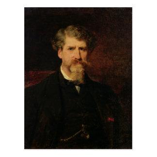 Eugene Giraud  1861 Postcard