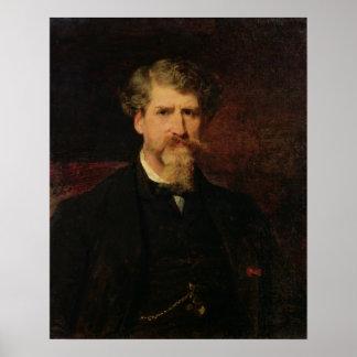 Eugene Giraud  1861 Poster