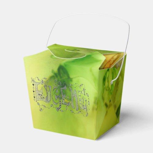 Eugene Green Favor Box