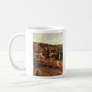 Eugène Henri Paul Gauguin - Blue Roots at Rouen Classic White Coffee Mug