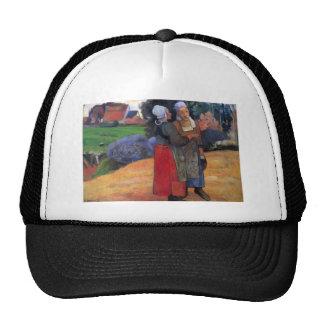 Eugène Henri Paul Gauguin - Breton Famers Trucker Hat