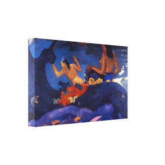 Eugène Henri Paul Gauguin - Fatata Te Miti Canvas Print