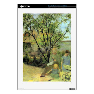 Eugène Henri Paul Gauguin - Garden in Rue Carcel Decal For The PS3