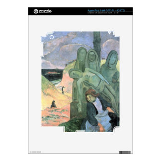 Eugène Henri Paul Gauguin - Green Christ Decal For iPad 3