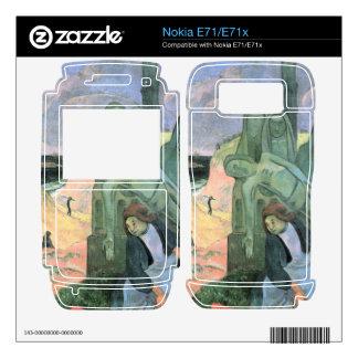 Eugène Henri Paul Gauguin - Green Christ Nokia E71 Skin