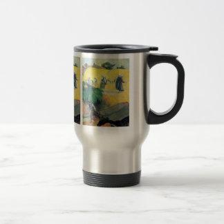 Eugène Henri Paul Gauguin - Harvest In Brittany 15 Oz Stainless Steel Travel Mug