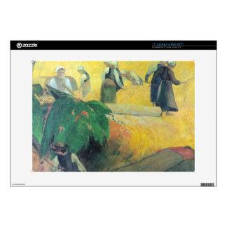 Eugène Henri Paul Gauguin - Harvest In Brittany Skin For Laptop