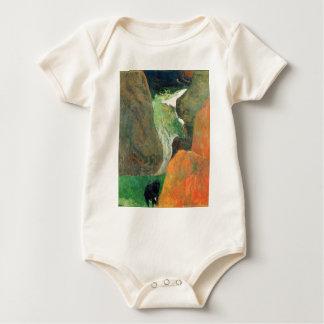 Eugène Henri Paul Gauguin - Hover Above the Abyss Baby Bodysuit